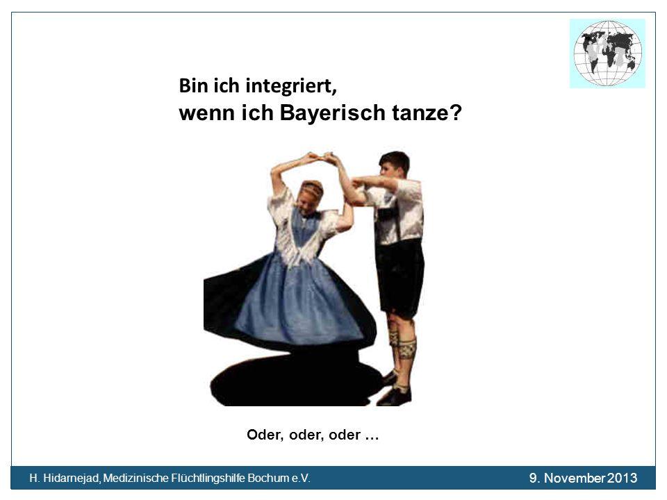 wenn ich Bayerisch tanze