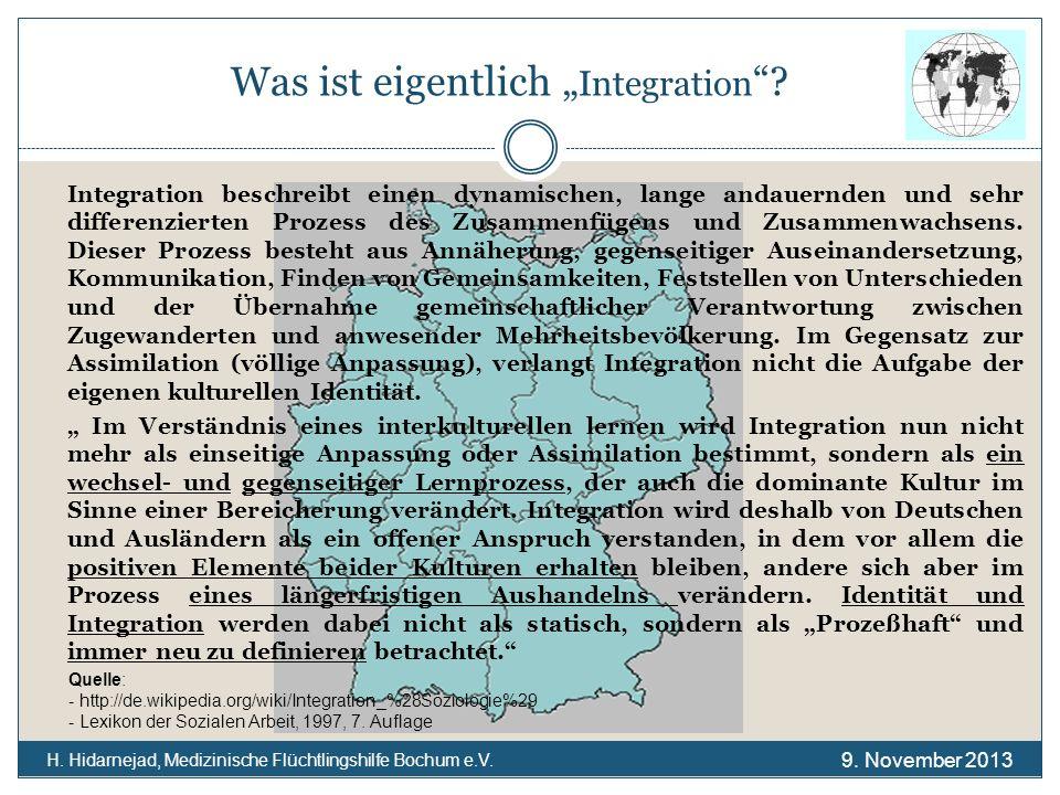 """Was ist eigentlich """"Integration"""