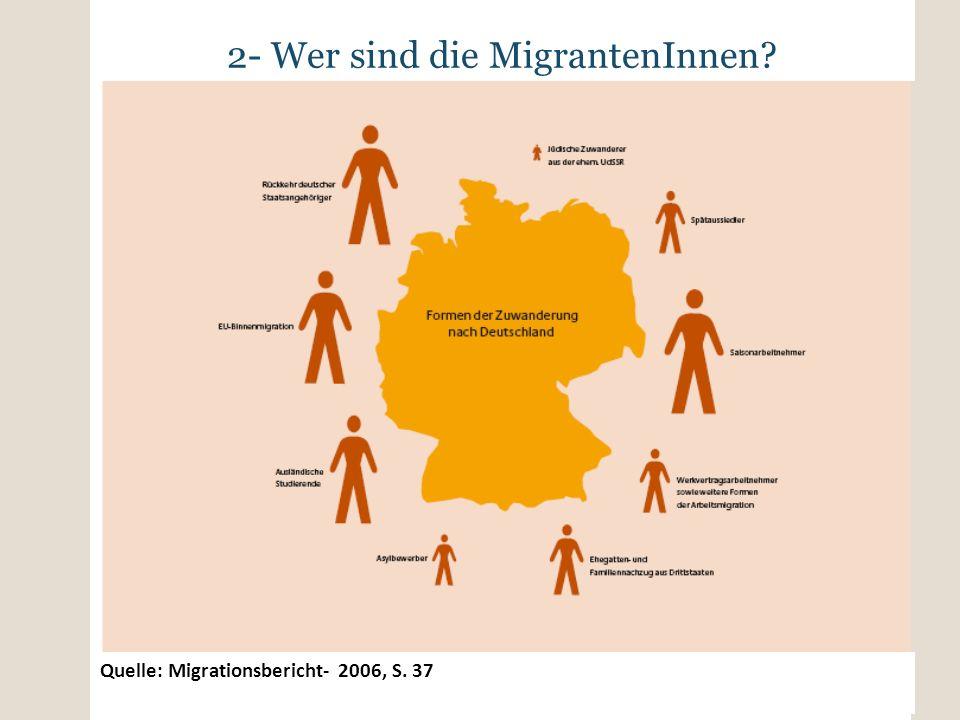 2- Wer sind die MigrantenInnen