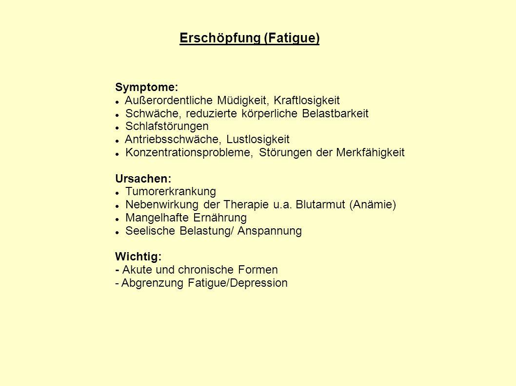 Erschöpfung (Fatigue)