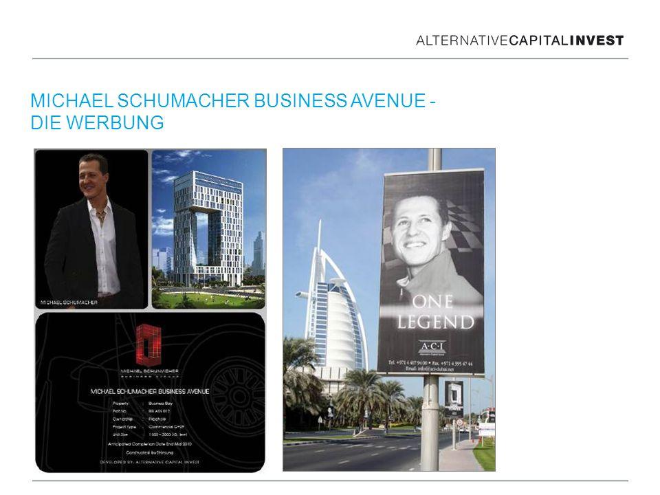 MICHAEL SCHUMACHER BUSINESS AVENUE - DIE WERBUNG
