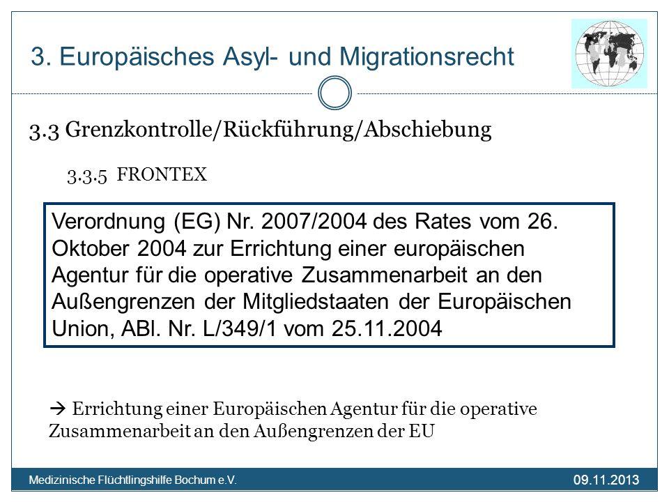 3. Europäisches Asyl- und Migrationsrecht