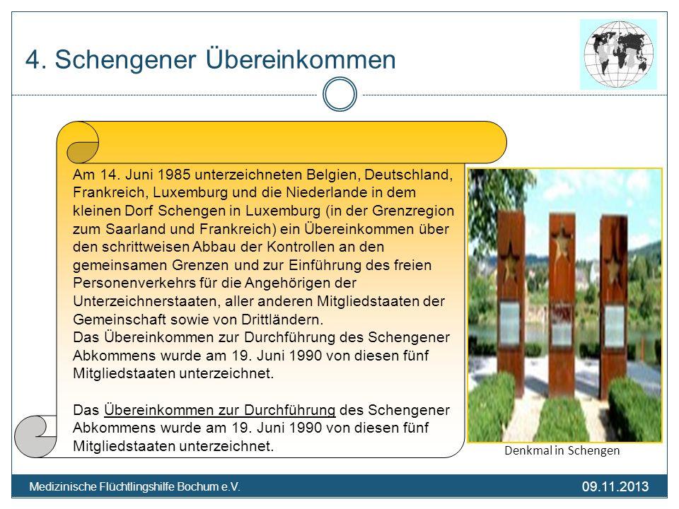 4. Schengener Übereinkommen