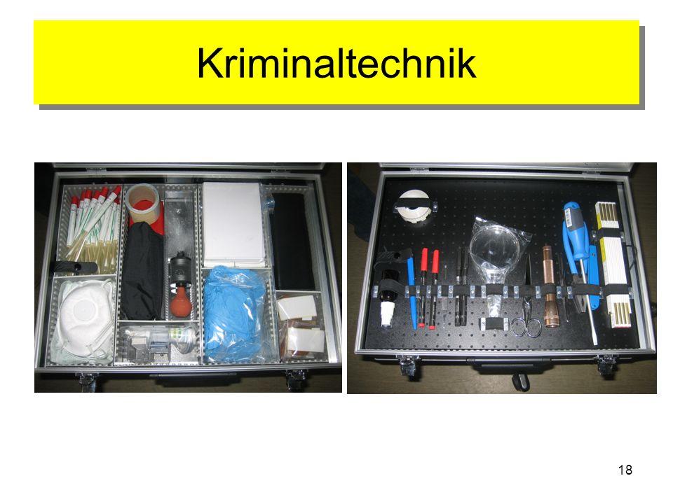 Kriminaltechnik