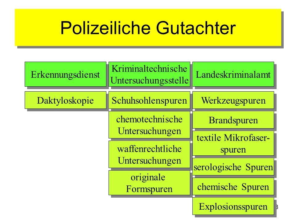 Polizeiliche Gutachter