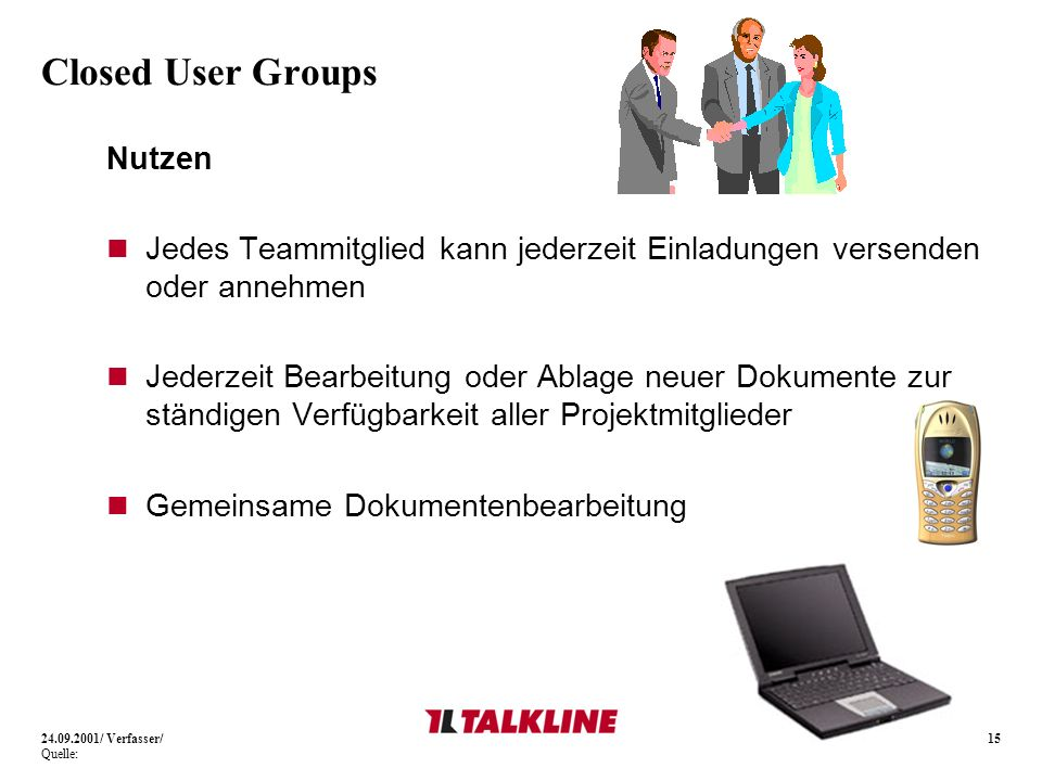 Closed User Groups Nutzen