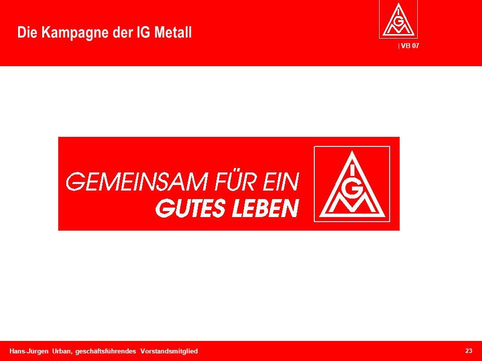 Die Kampagne der IG Metall