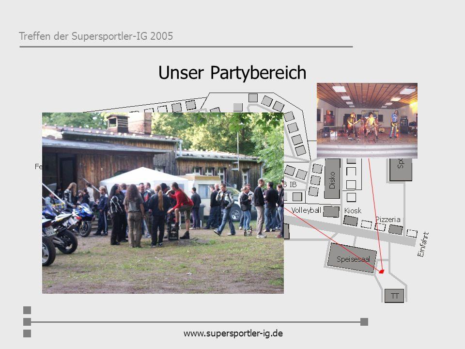 Unser Partybereich www.supersportler-ig.de