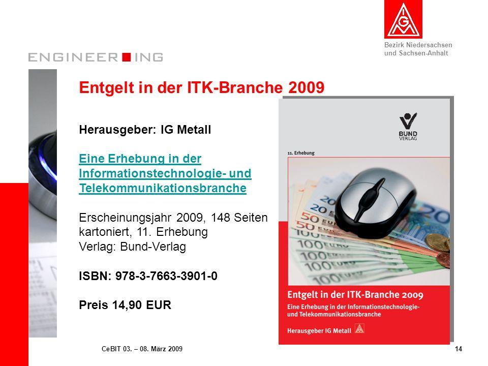 Entgelt in der ITK-Branche 2009