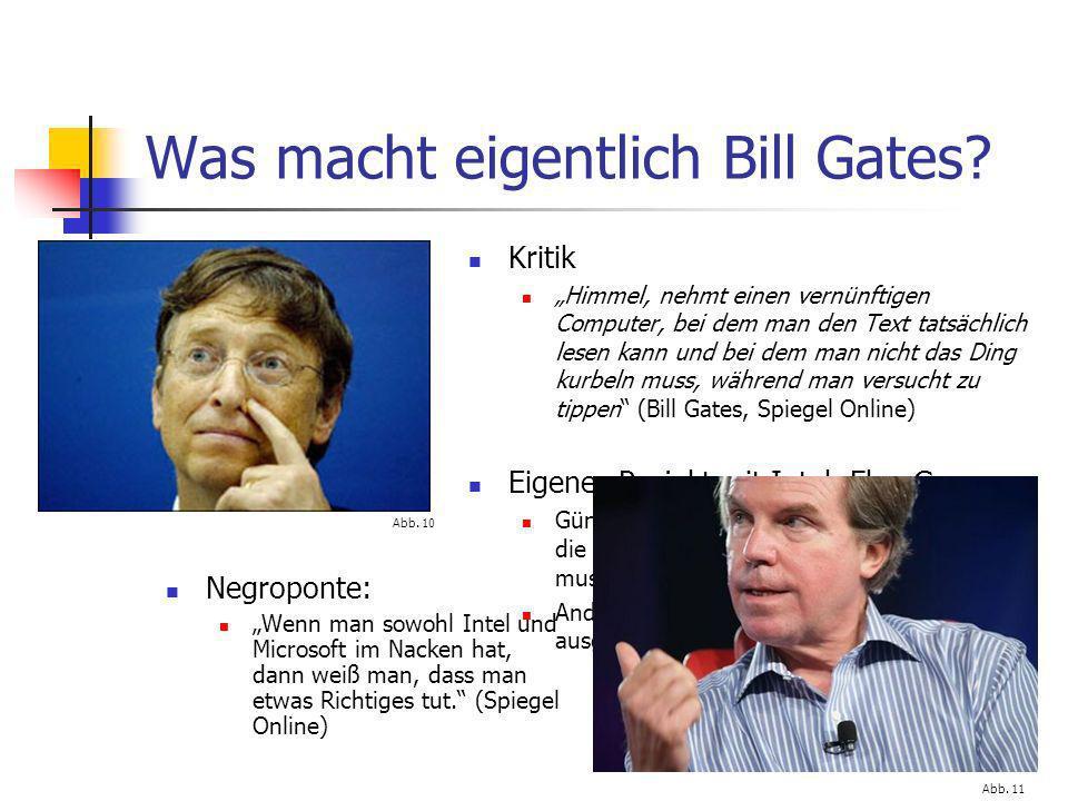 Was macht eigentlich Bill Gates