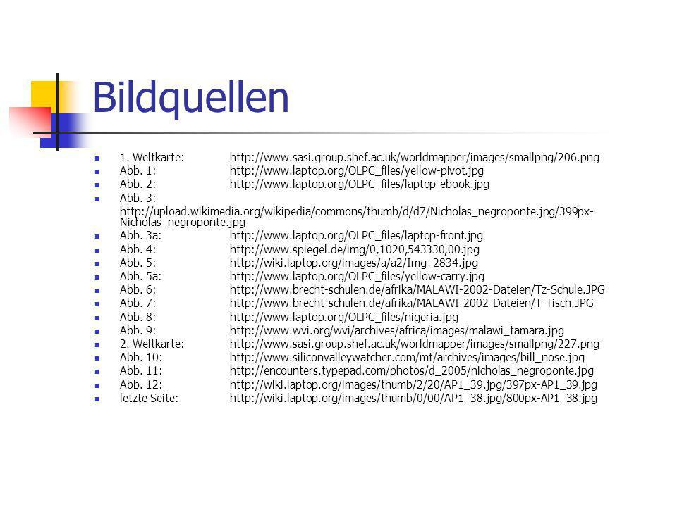 Bildquellen 1. Weltkarte: http://www.sasi.group.shef.ac.uk/worldmapper/images/smallpng/206.png.