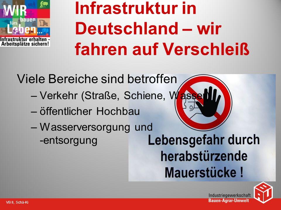 Infrastruktur in Deutschland – wir fahren auf Verschleiß