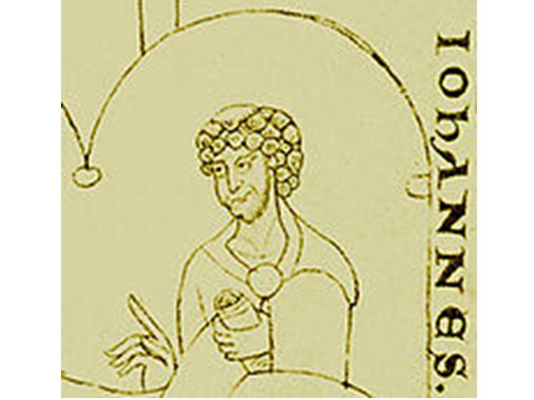 Darstellung Eriugenas in der Handschrift Paris, Bibliothèque Nationale, Lat. 6734