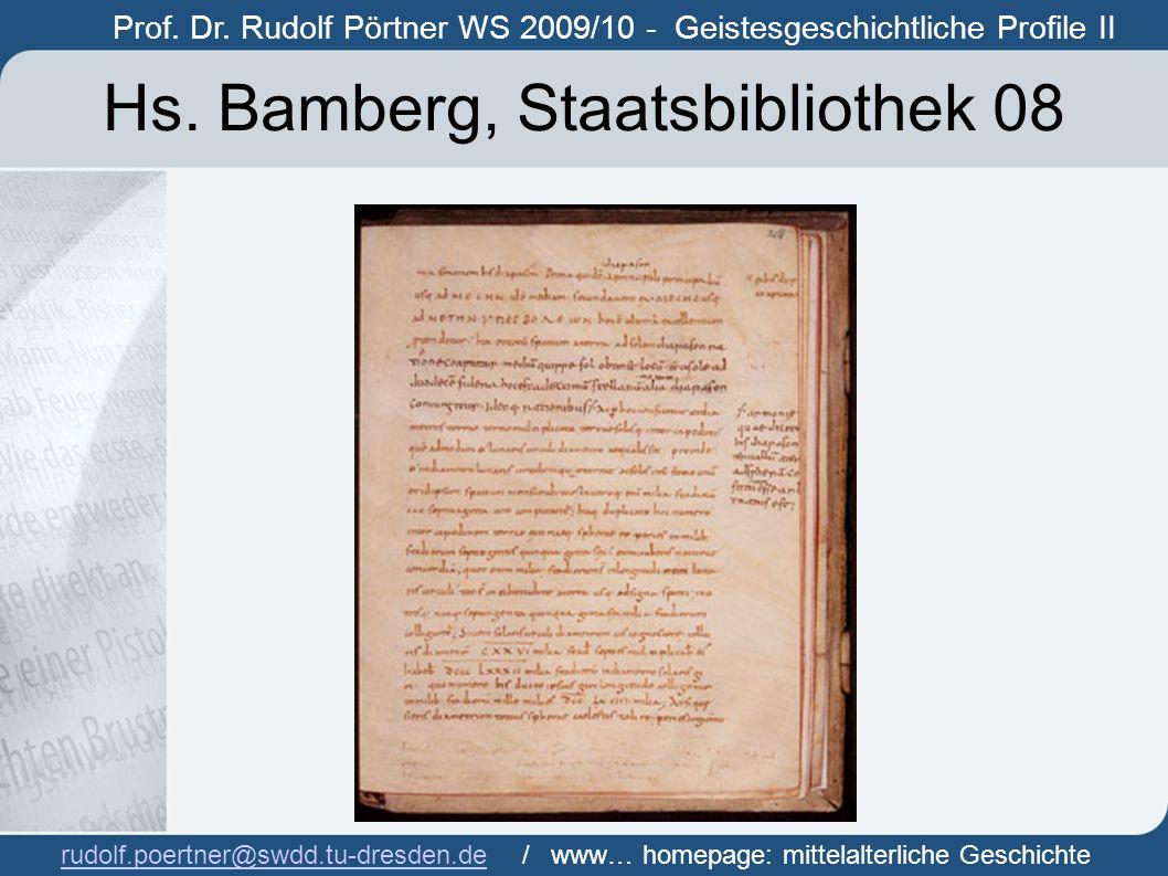Hs. Bamberg, Staatsbibliothek 08
