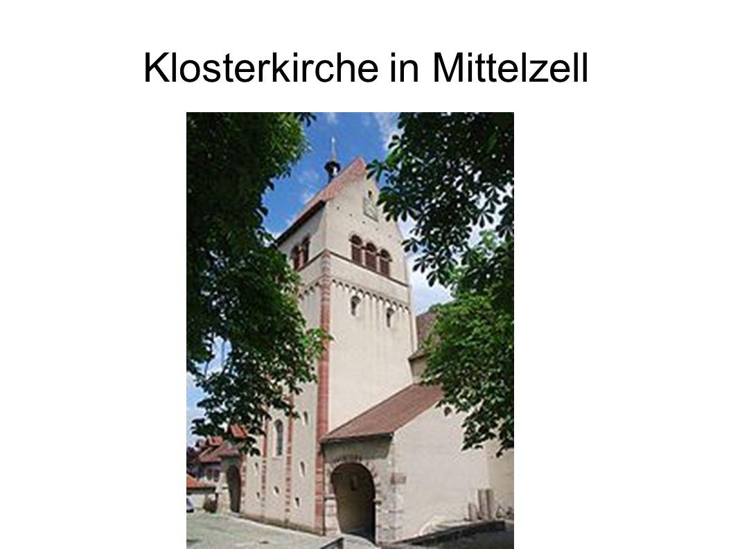 Klosterkirche in Mittelzell