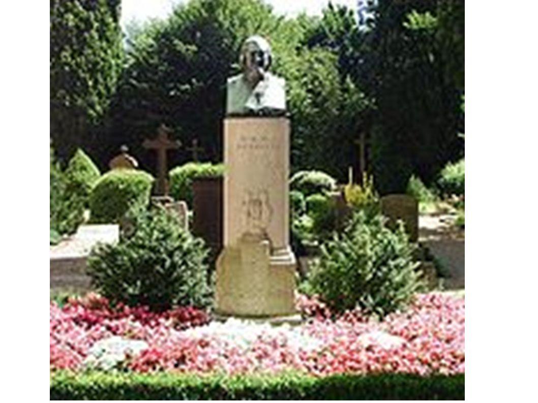 Grab von August Heinrich Hoffmann von Fallersleben, Bibliothekar in Corvey, gest.1874