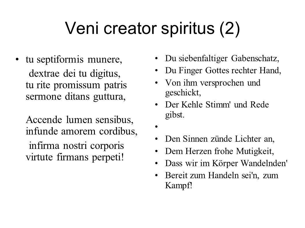 Veni creator spiritus (2)