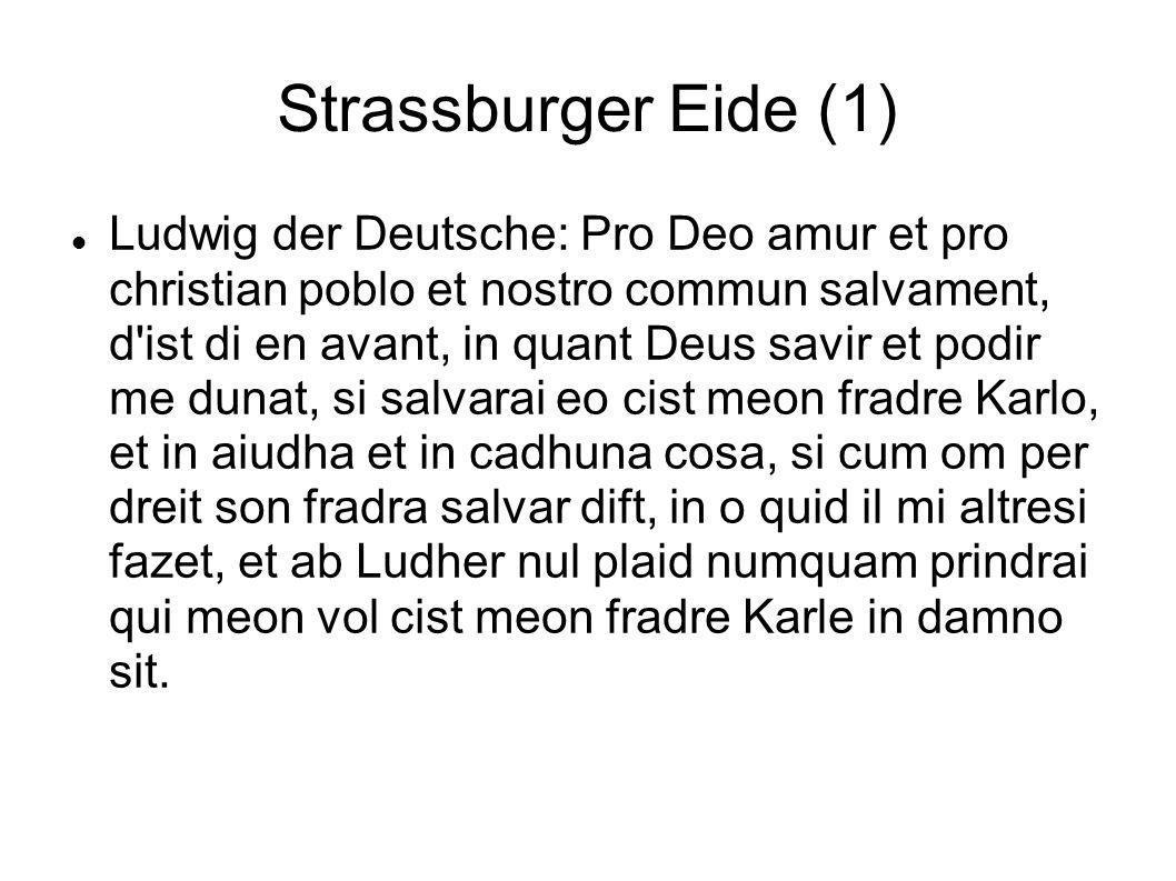 Strassburger Eide (1)