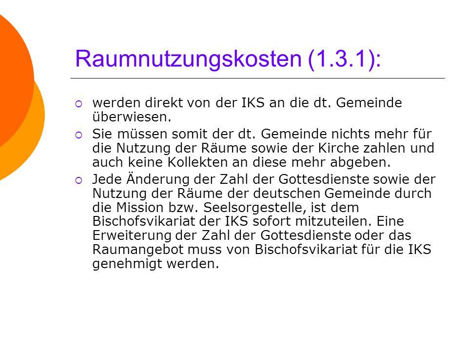 Raumnutzungskosten (1.3.1):