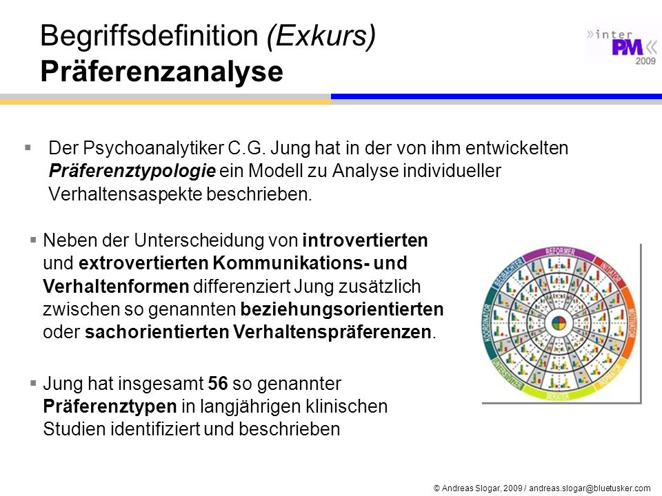 Begriffsdefinition (Exkurs) Präferenzanalyse