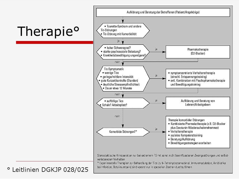 Therapie° ° Leitlinien DGKJP 028/025