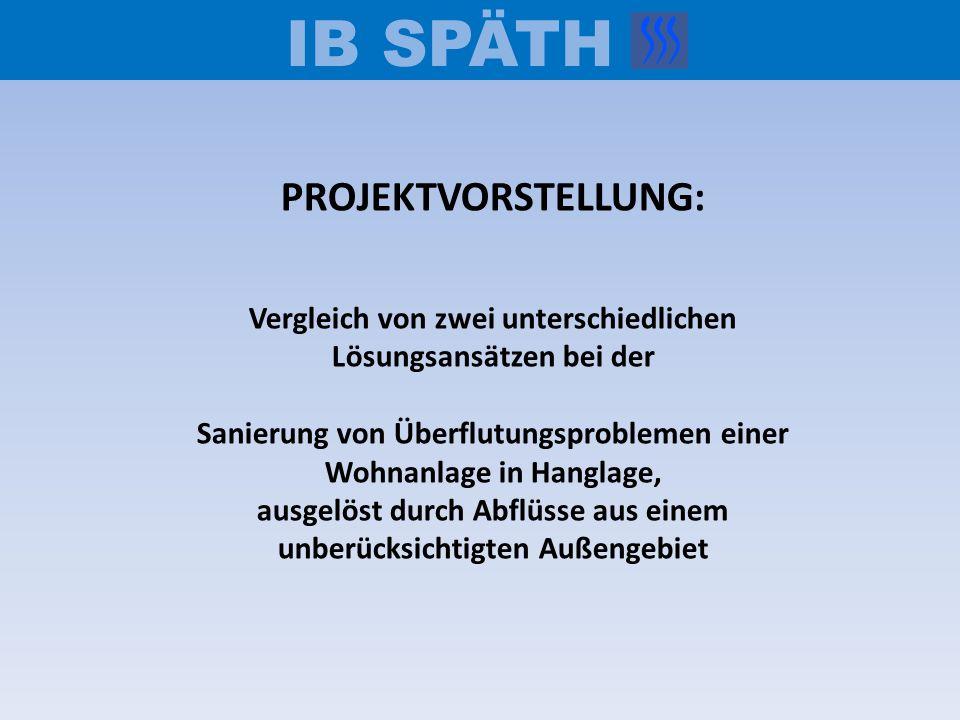 IB SPÄTH PROJEKTVORSTELLUNG: