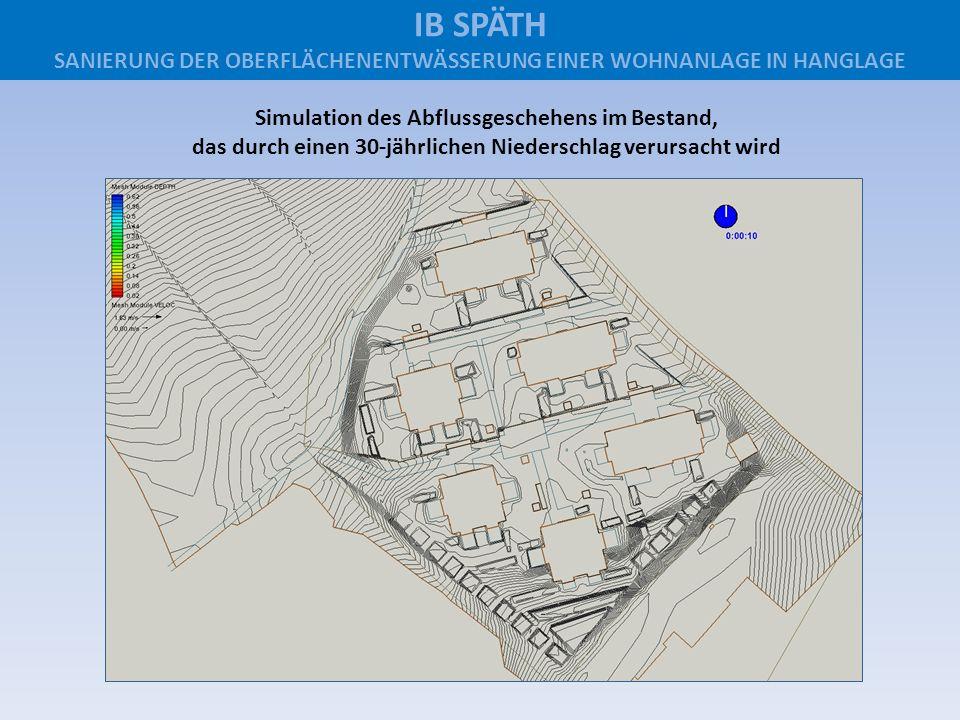 IB SPÄTH SANIERUNG DER OBERFLÄCHENENTWÄSSERUNG EINER WOHNANLAGE IN HANGLAGE