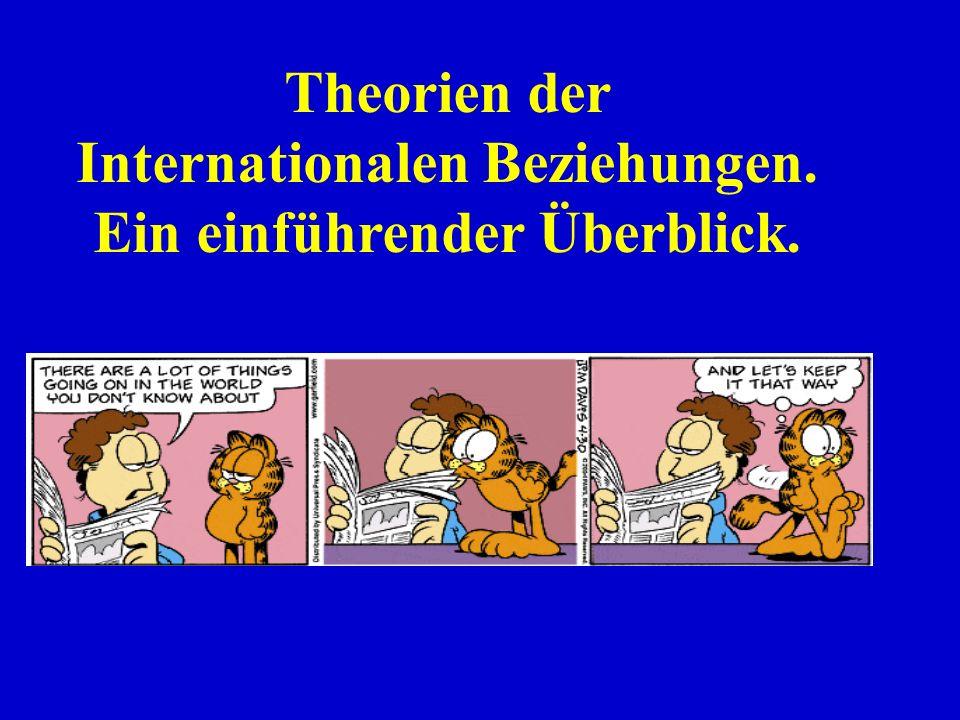 Internationalen Beziehungen. Ein einführender Überblick.