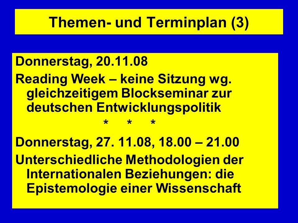 Themen- und Terminplan (3)