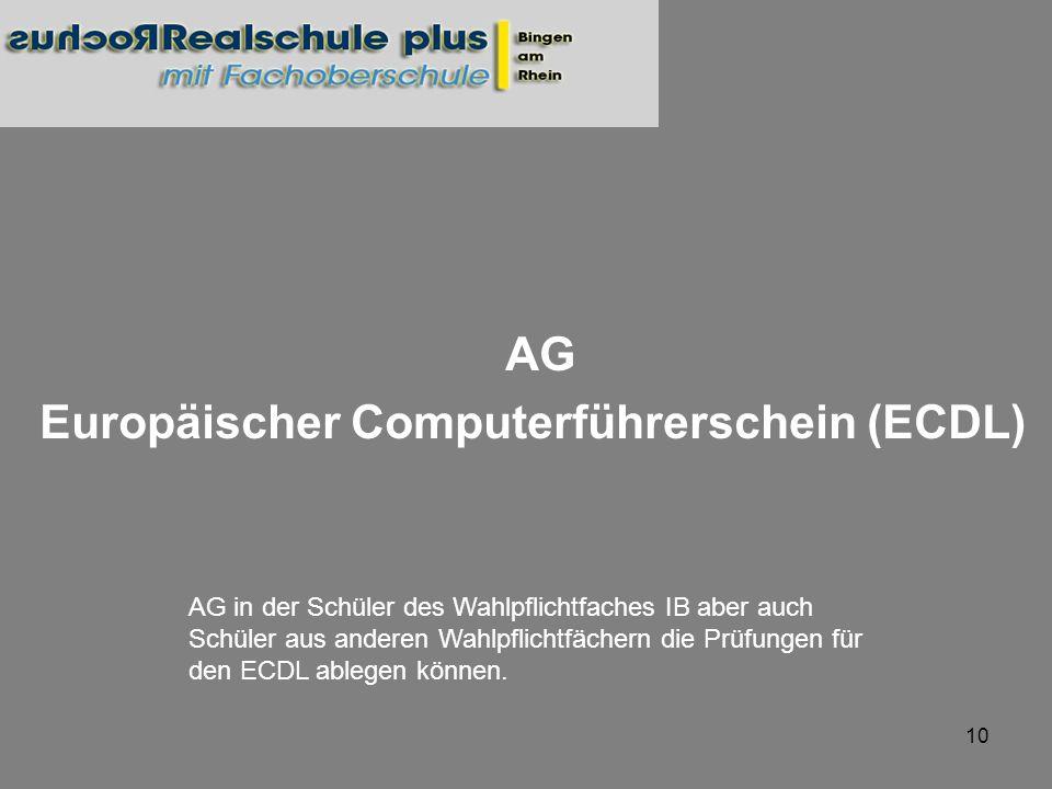 AG Europäischer Computerführerschein (ECDL)