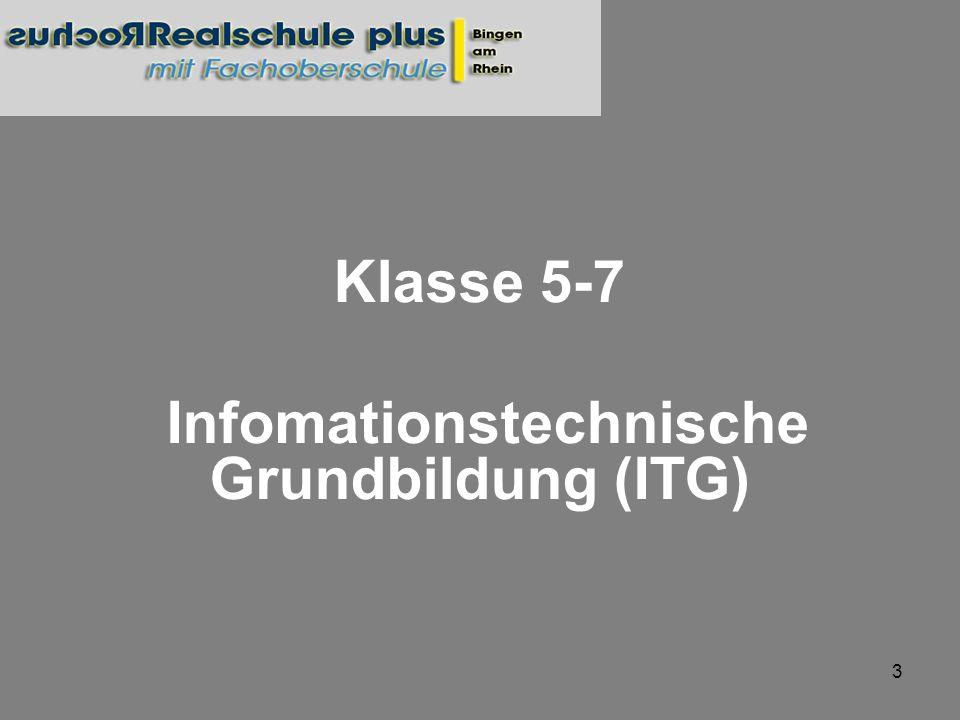 Infomationstechnische Grundbildung (ITG)