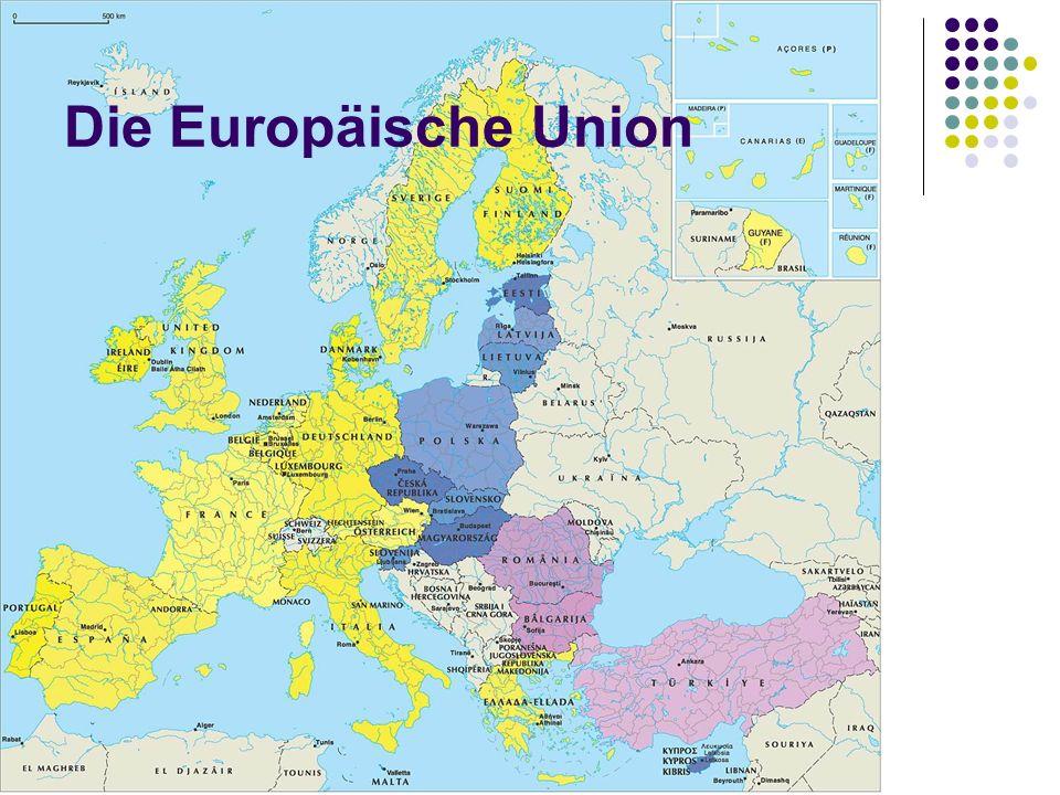 Die Europäische Union EU als: IO zwischen Staatenbund und Bundesstaat