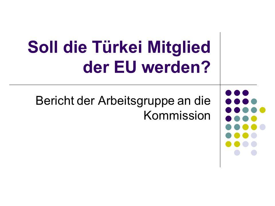 Soll die Türkei Mitglied der EU werden