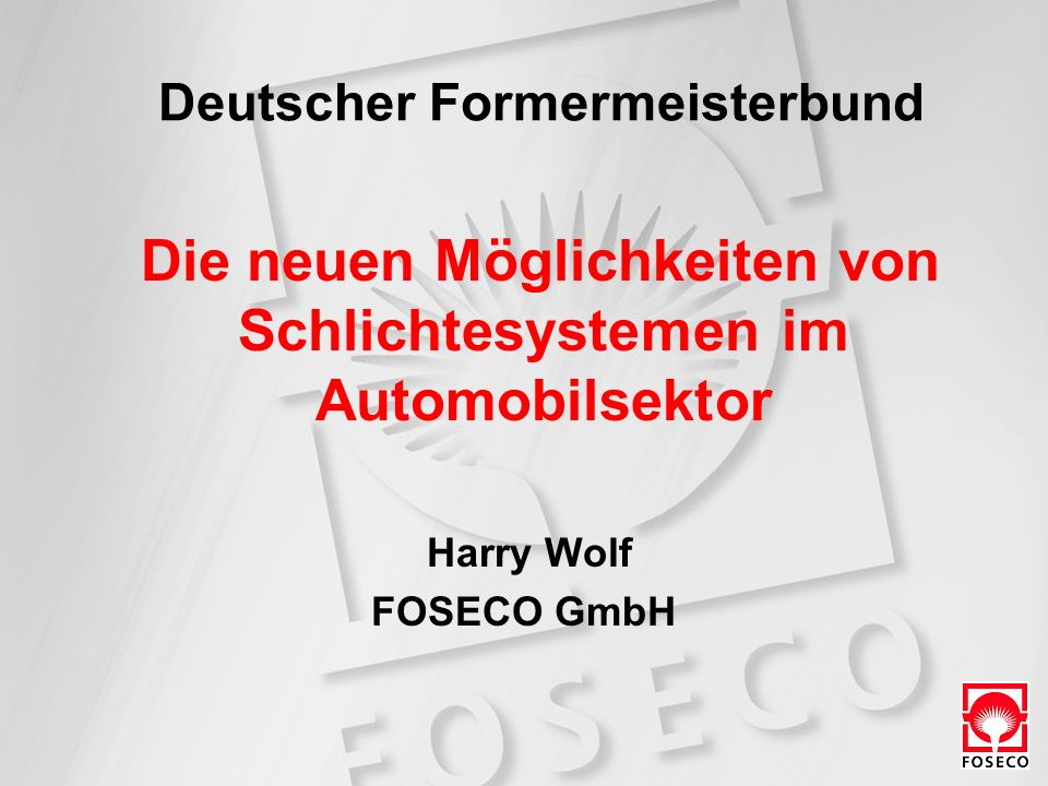 Deutscher Formermeisterbund