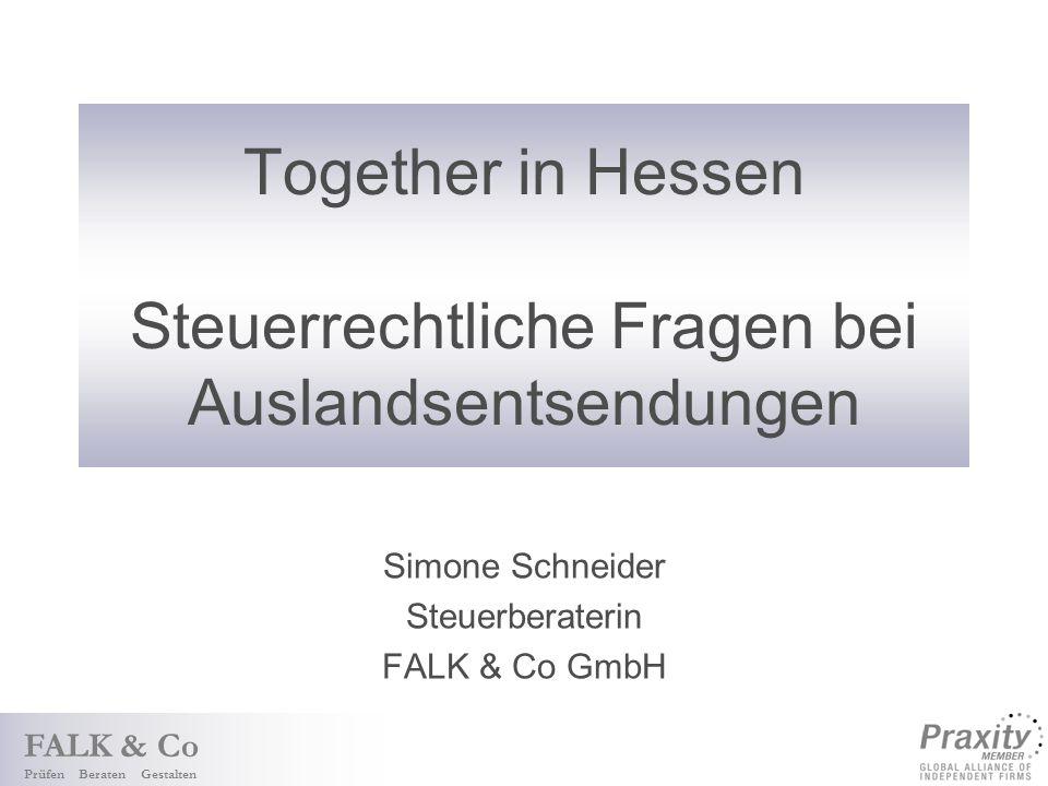 Together in Hessen Steuerrechtliche Fragen bei Auslandsentsendungen