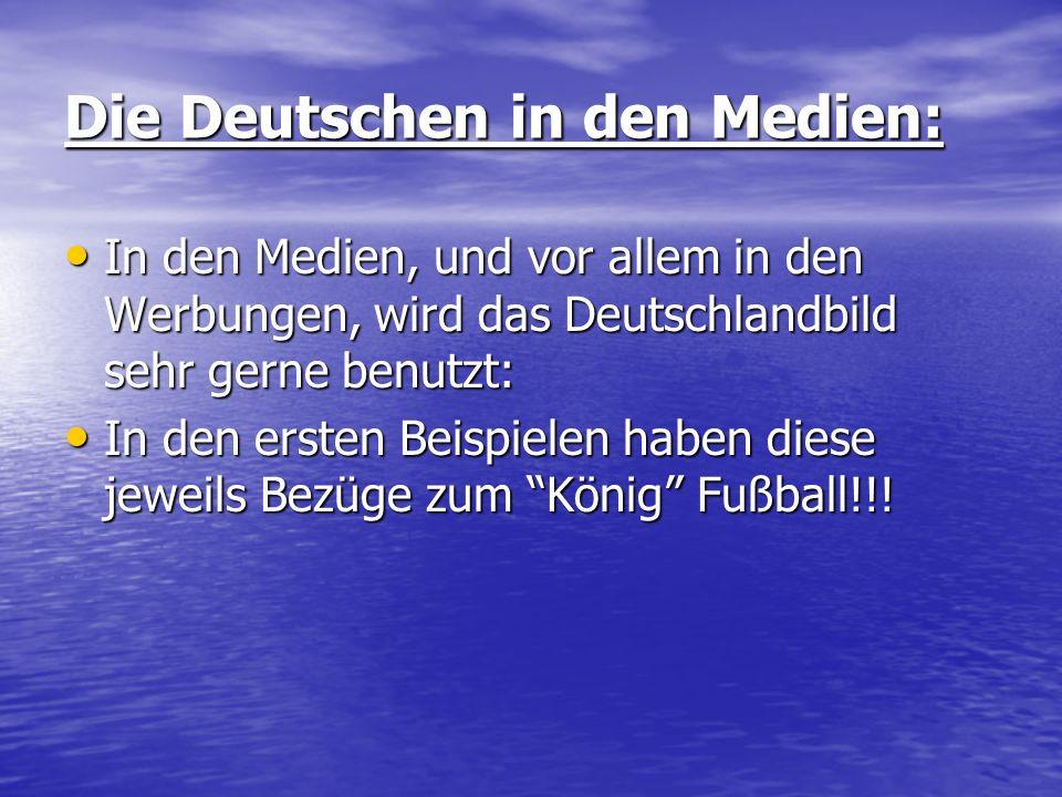 Die Deutschen in den Medien: