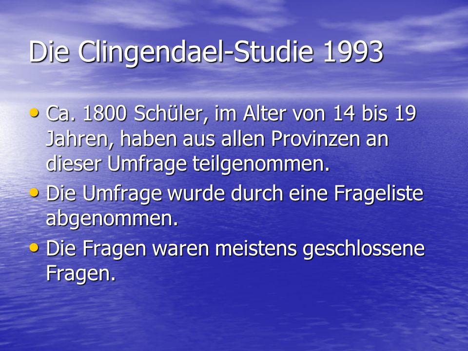 Die Clingendael-Studie 1993