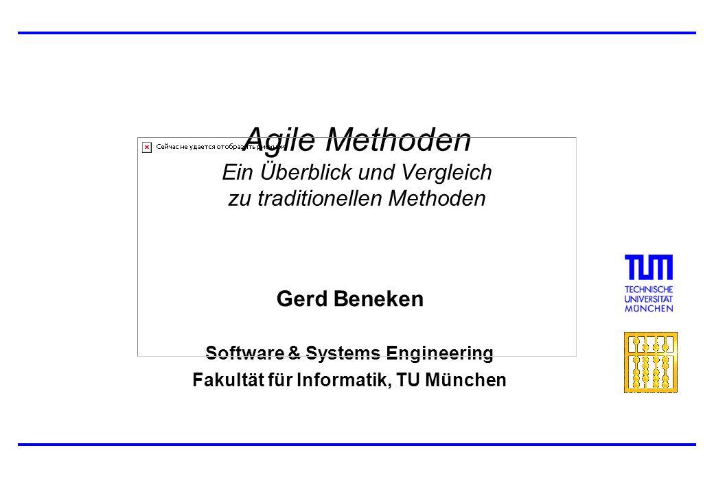 Agile Methoden Ein Überblick und Vergleich zu traditionellen Methoden