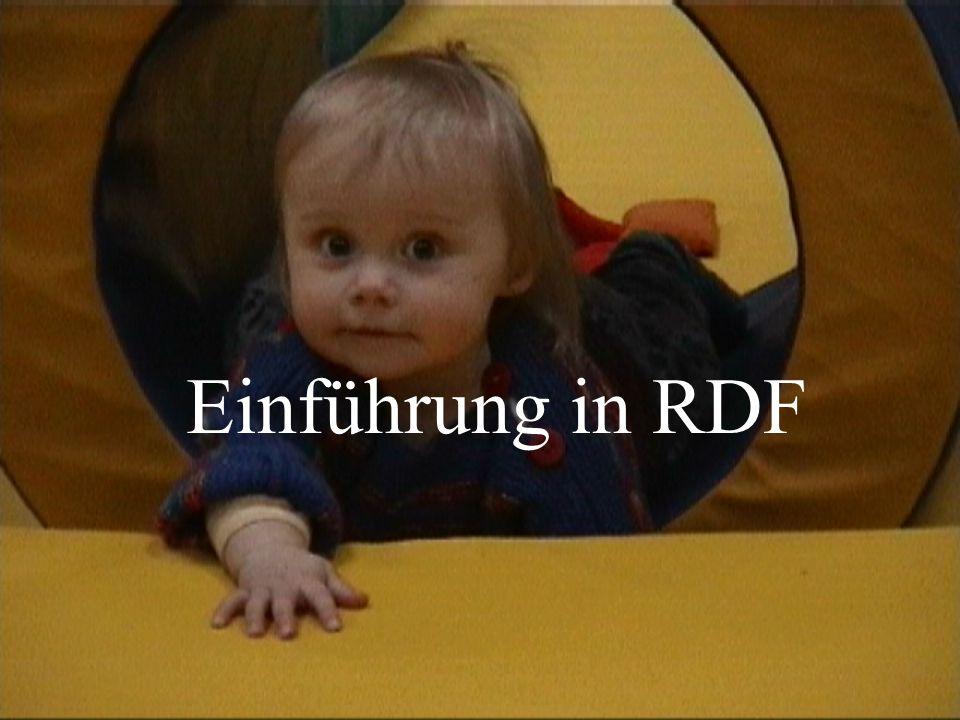 Einführung in RDF