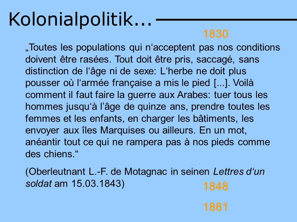 Kolonialpolitik...1830.