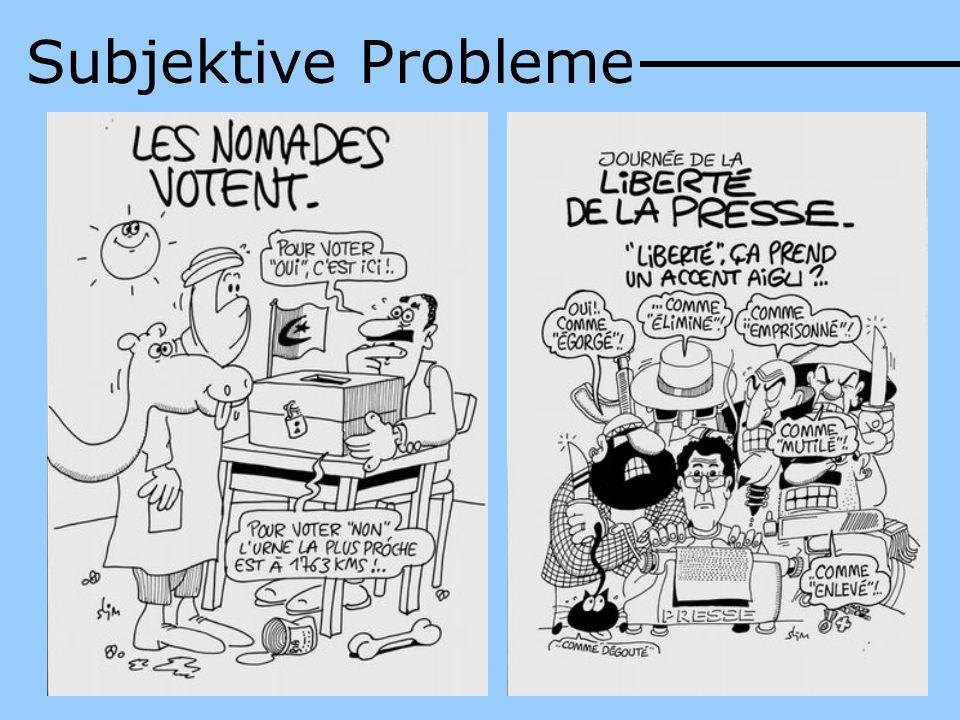 Subjektive Probleme