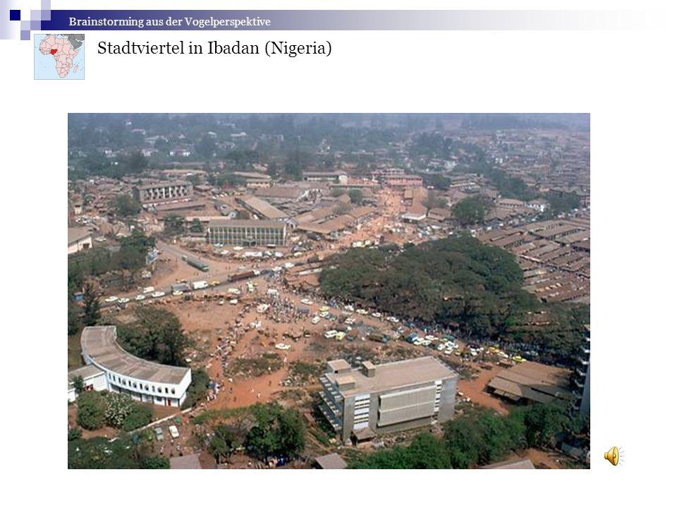Stadtviertel in Ibadan (Nigeria)