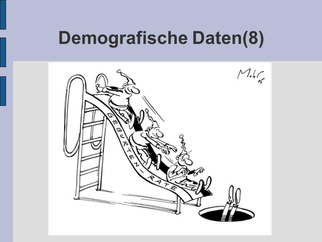Demografische Daten(8)