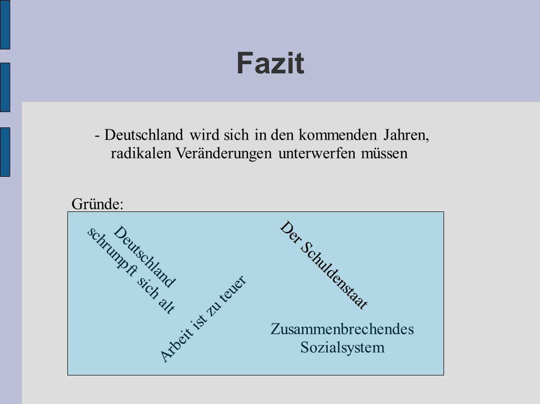 Fazit - Deutschland wird sich in den kommenden Jahren,