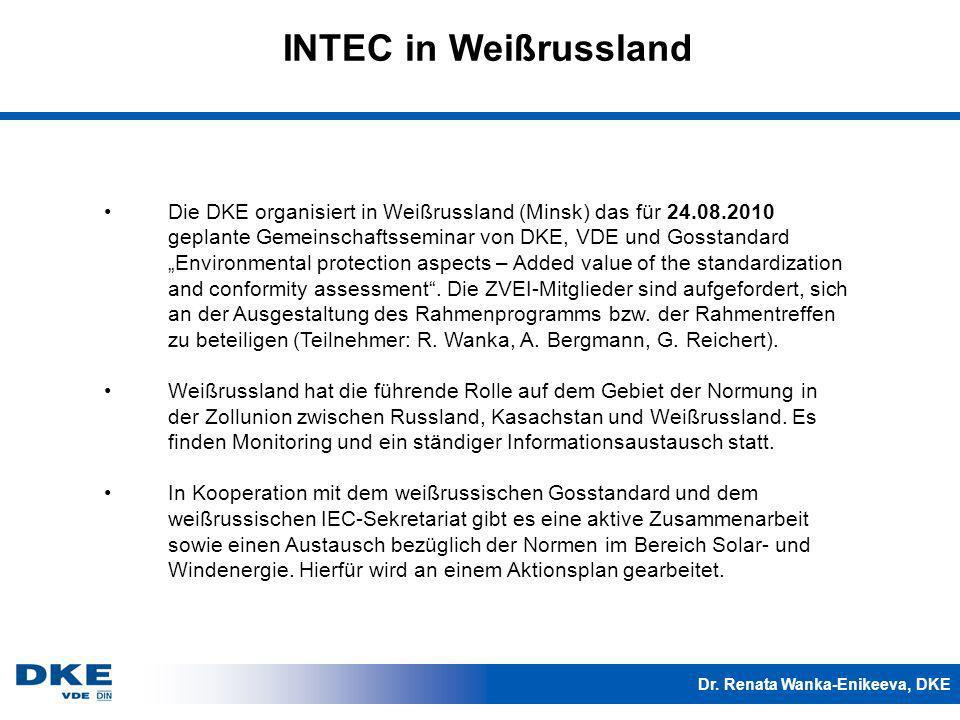 INTEC in Weißrussland
