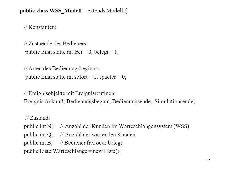 public class WSS_Modell extends Modell {