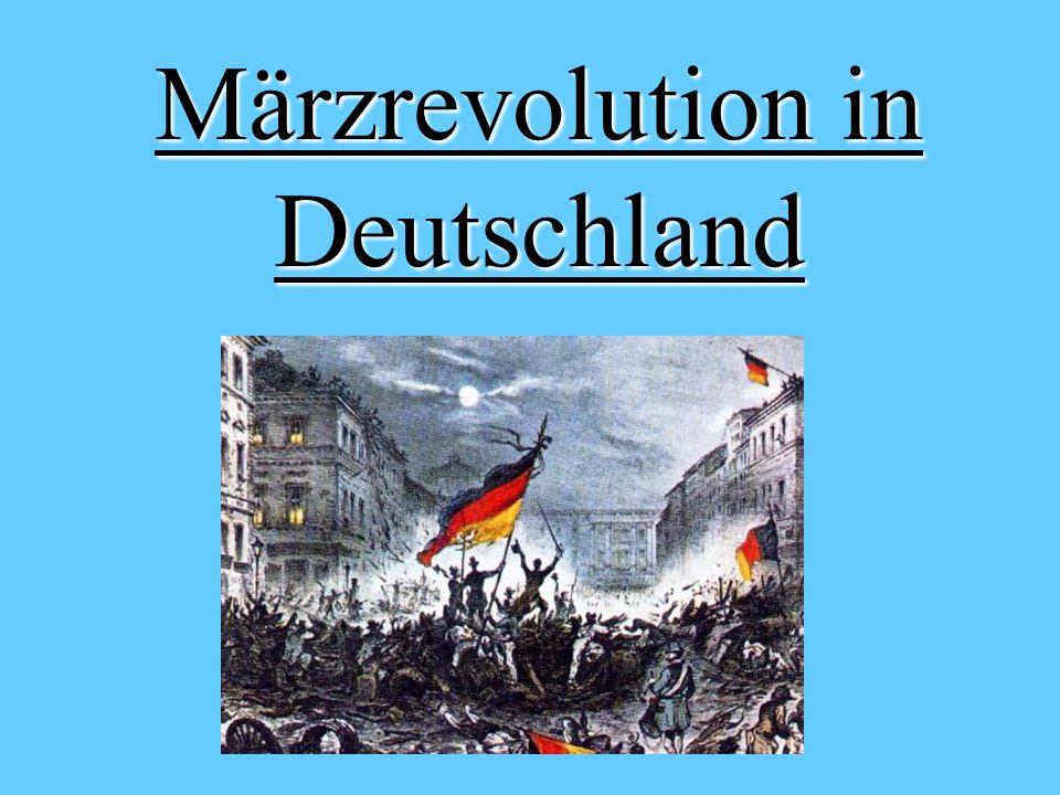 Märzrevolution in Deutschland