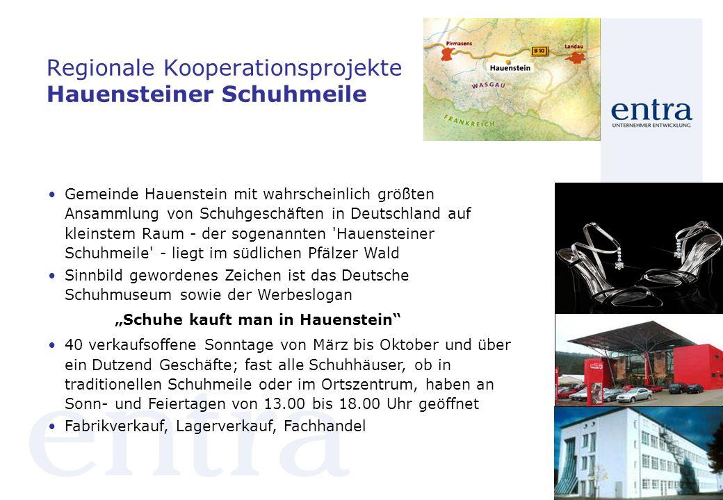 Regionale Kooperationsprojekte Hauensteiner Schuhmeile
