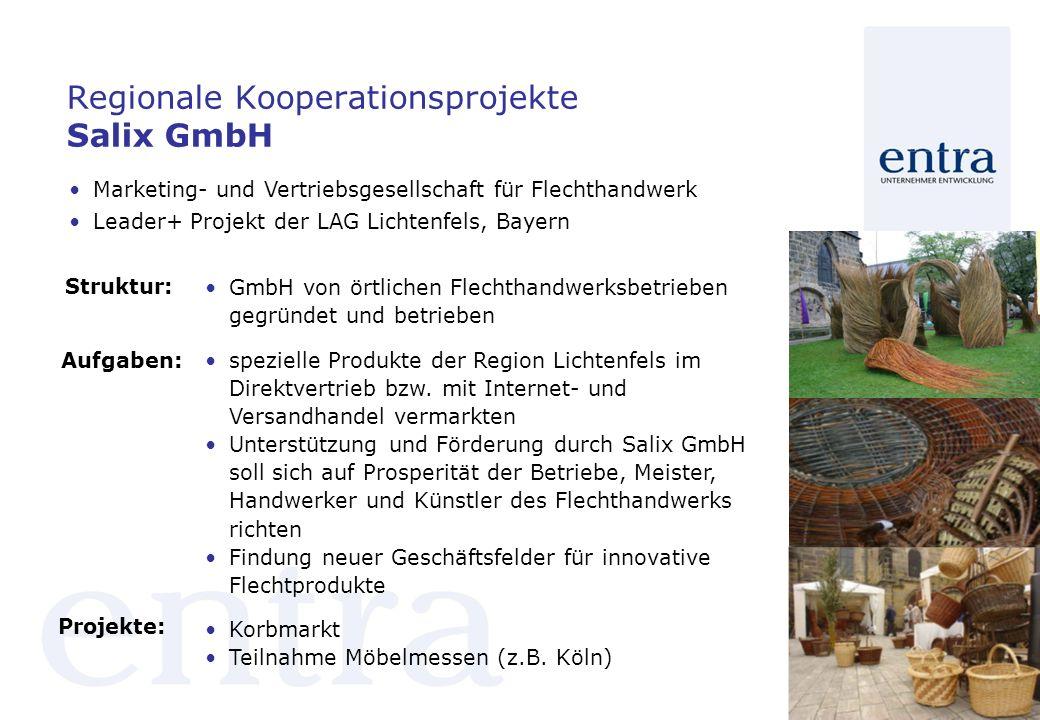 Regionale Kooperationsprojekte Salix GmbH