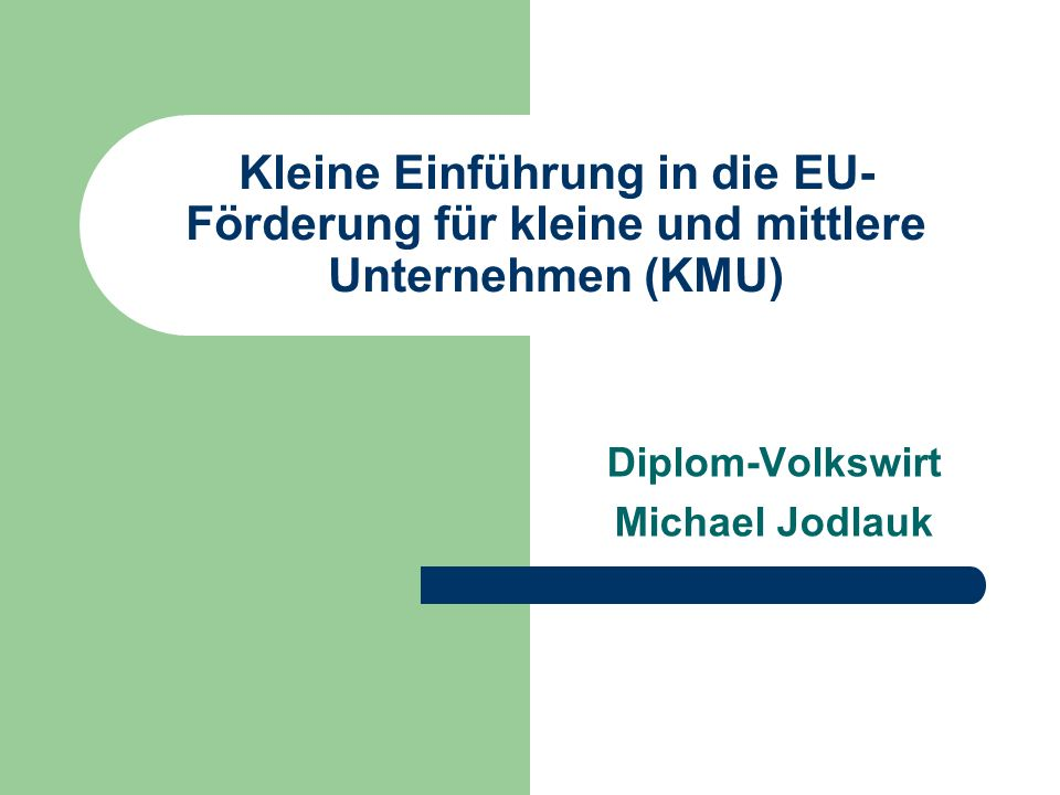 Diplom-Volkswirt Michael Jodlauk